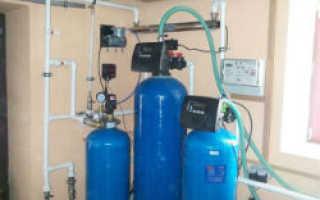 Какой фильтр установить на проточный водопровод с большим количеством железа?
