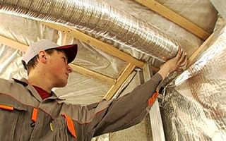 Стоит ли менять жесткие воздуховоды на гибкие?