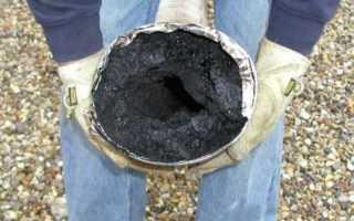 Как проводится чистка дымохода от сажи: как грамотно почистить дымовой канал