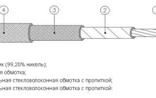 Многожильный термостойкий кабель РКГМ 500 градусов: медный сердечник, силиконовая водоотталкивающая оболочка