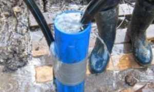 Чистка скважины своими руками: обзор частых причин засорения и лучших методы прочистки