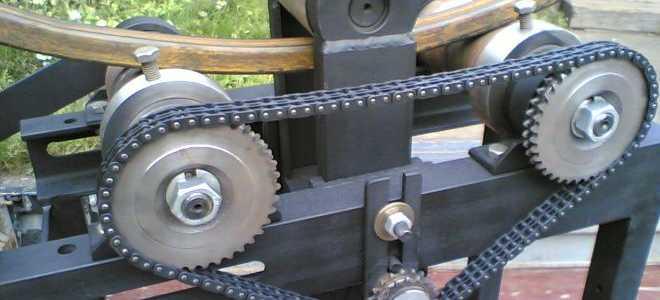 Станок для гибки профильной трубы: как соорудить трубогибочный станок своими руками