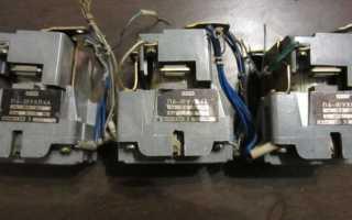 Схемы подключения магнитного пускателя на 220 В и 380 В + особенности самостоятельного подключения