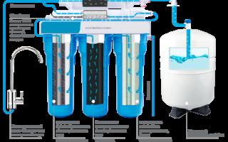 Гидроаккумулятор от насосной станции для фильтра обратного осмоса