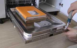 Обзор посудомоечной машины Bosch SPV47E40RU: экономный расход ресурсов при мойке класса А