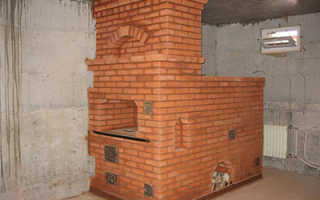 Печи из кирпича для дачи на дровах: лучшие порядовки и пошаговое руководство по сооружению