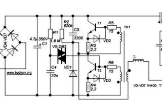 ЭПРА для светильника: устройство, назначение и схемы электронного балласта для люминесцентных ламп