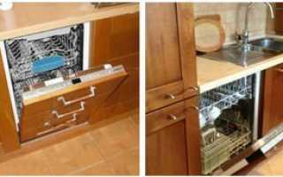 Установка встраиваемой посудомоечной машины: пошаговый инструктаж по монтажу