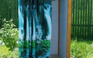 Летний душ с подогревом своими руками: пошаговый инструктаж по строительству