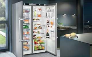 Двухдверный холодильник: плюсы и минусы Side-by-Side + обзор лучших моделей